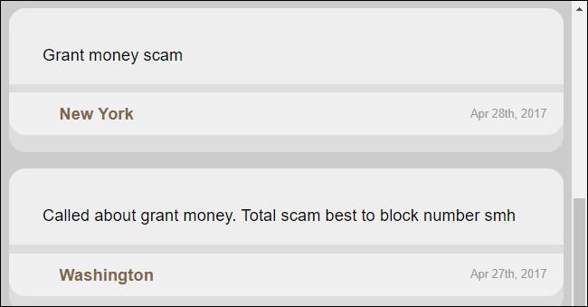Bình luận trên trang web
