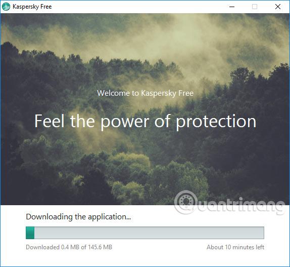 Tải gói dữ liệu Kaspersky Free