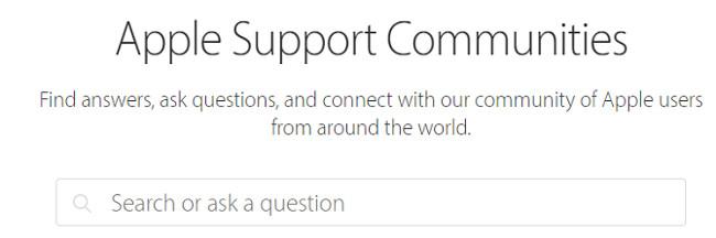 Cộng đồng hỗ trợ Apple