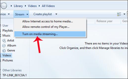 Bật tính năng chia sẻ trên laptop