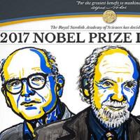 Giải Nobel Vật lý 2017 được trao cho nghiên cứu về sóng hấp dẫn
