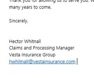 Địa chỉ email được liên kết