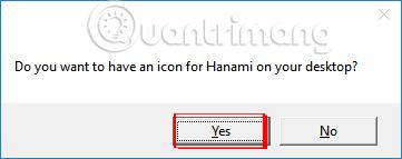 Tạo biểu tượng Hanami