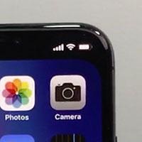 Cách giấu cái rãnh xấu xí trên iPhone X bằng hình nền