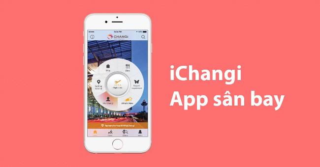App iChangi cho những ai thích mua đồ tại sân bay