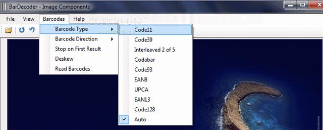 Phần mềm quét mã vạch BarDecoder