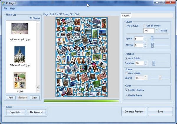 Collagelt ghép ảnh trên máy tính