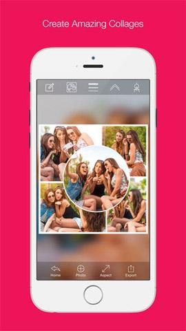 Photo Collage Creator ghép ảnh iPhone