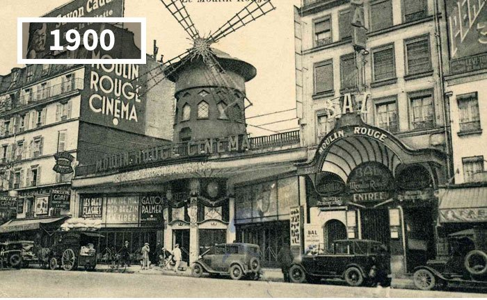 Moulin Rouge, Paris, Pháp, 1900