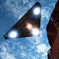 Xác định vị trí bí mật của tam giác TR-3B UFO trên Google Earth?