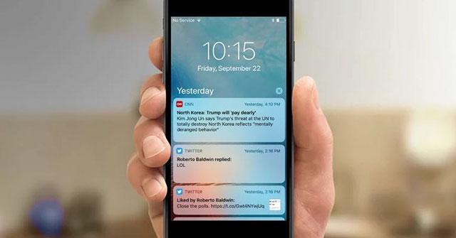 Local Notifications là nguyên nhân khiến iOS bị crash