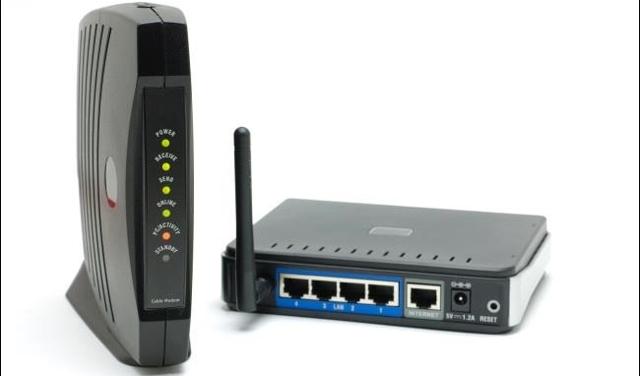 Khởi động lại router và modem