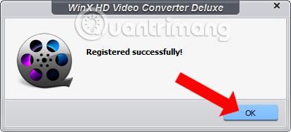 Thông báo kích hoạt phần mềm