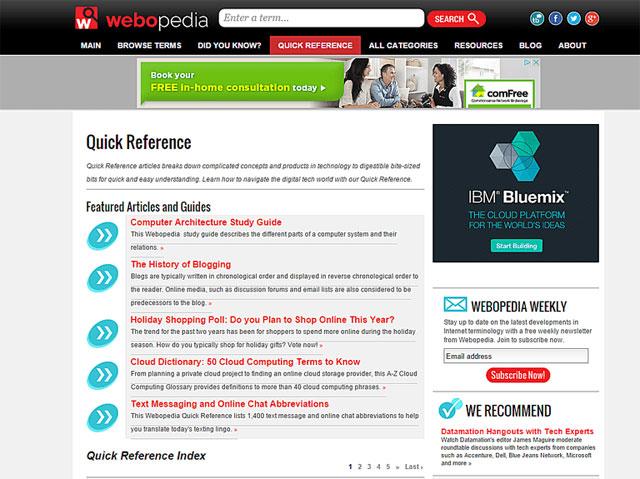 Công cụ tìm kiếm Webopedia