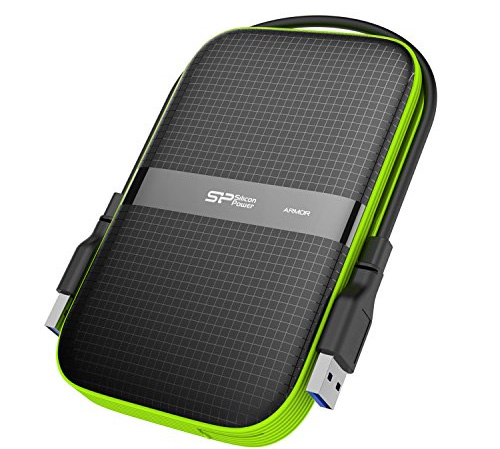 Ổ cứng ngoài Silicon Power 1TB Rugged Armor A60 Military-Grade