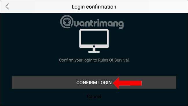 Xác nhận đăng nhập