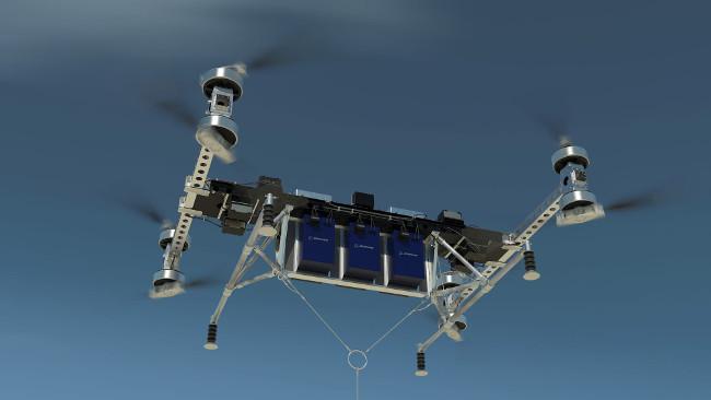 Boeing xây dựng một chiếc copter không người lái