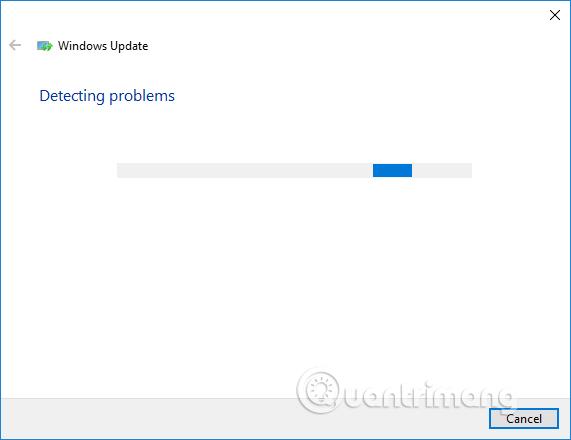 Dò lỗi trên Windows Update