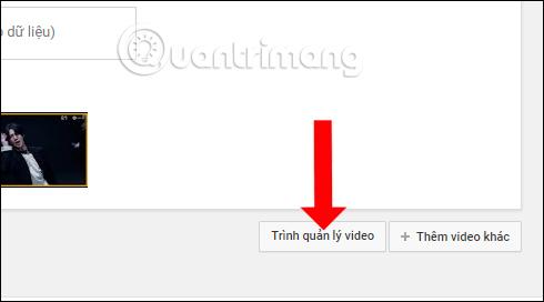 Trình quản lý video Youtube