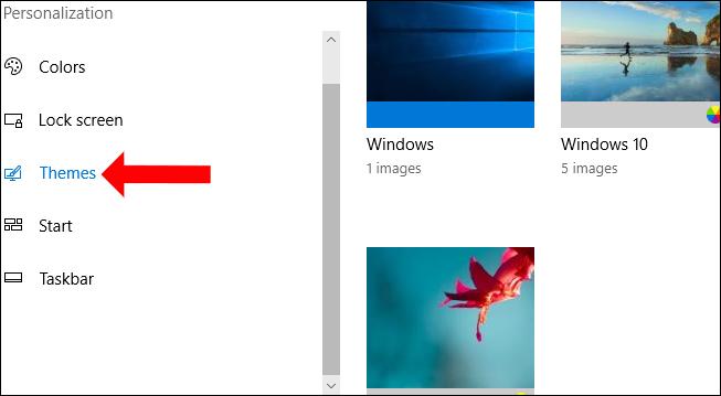 Đổi theme cho Windows 10