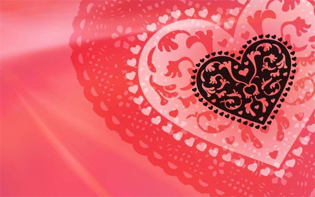 Chủ đề trái tim Valentine