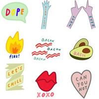 Hướng dẫn tạo và sử dụng các loại sticker trên Snapchat