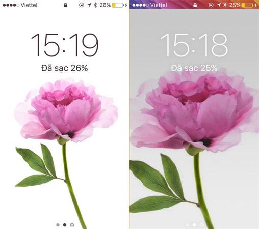 Đổi màu thanh trạng thái iPhone sẽ làm cho điện thoại của bạn trở nên độc đáo hơn.