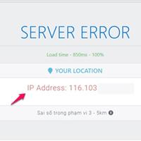 Gửi link website này cho bạn bè, bạn sẽ biết địa chỉ của họ thông qua IP của máy tính
