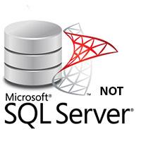 Điều kiện NOT trong SQL Server