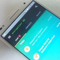 Gửi, nhận tin nhắn được mã hoá, tin nhắn tự hủy, chat an toàn với KeeperChat
