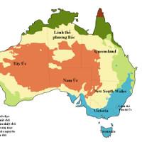 Dấu hiệu cho thấy một phần lục địa Úc đã từng thuộc về Bắc Mỹ