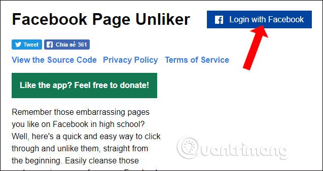 Cách bỏ thích Fanpage Facebook hoàng loạt cực nhanh