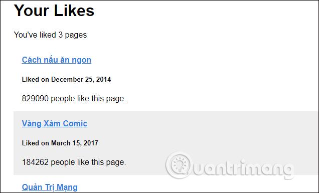 Cách bỏ thích Fanpage Facebook hoàng loạt cực nhanh - Ảnh minh hoạ 3