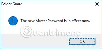 Thông báo mật khẩu máy tính
