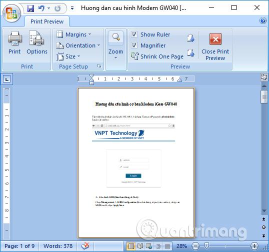 Cách tạo trang in dọc và in ngang trên 1 văn bản Word - Ảnh minh hoạ 5