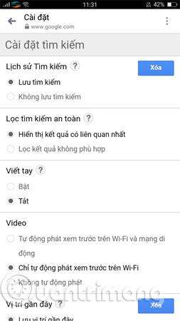 Cách thay đổi ngôn ngữ trên Google - Ảnh minh hoạ 5