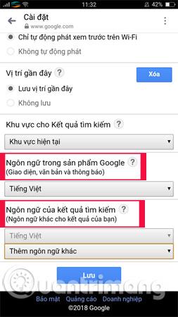 Cách thay đổi ngôn ngữ trên Google - Ảnh minh hoạ 6