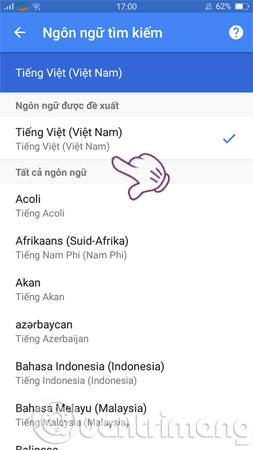 Cách thay đổi ngôn ngữ trên Google - Ảnh minh hoạ 4