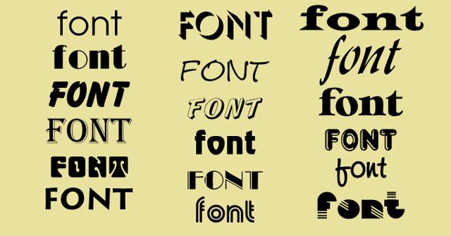 Website giúp bạn quản lý toàn bộ font chữ đã được cài đặt trong máy tính