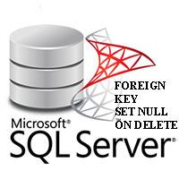 Khóa ngoại Foreign Key (Set Null) trong SQL Server