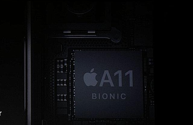 A11 Bionic là con chip mới nhất, đang chạy trên iPhone X, iPhone 8 và iPhone 8 Plus của Apple