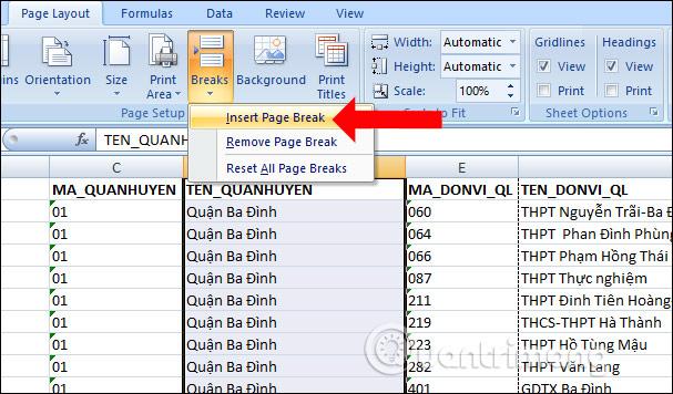 Cách in Excel trên 1 trang giấy A4 - Ảnh minh hoạ 6