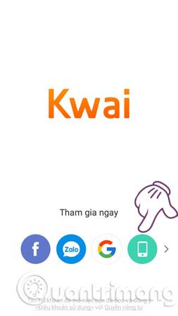 Cách sử dụng Kwai trên điện thoại, thêm hiệu ứng, nhại giọng video đang