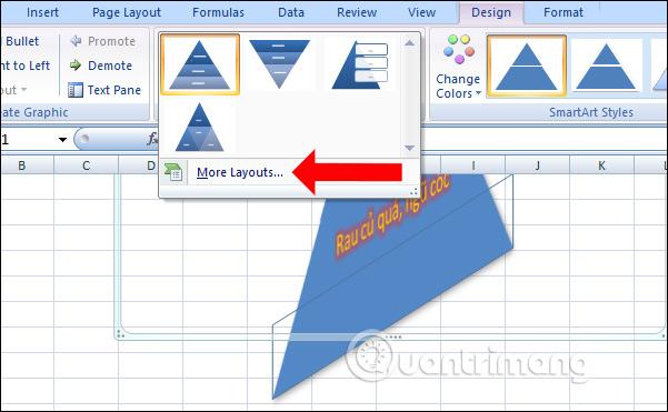 Cách tạo đồ họa SmartArt trên Excel - Ảnh minh hoạ 9