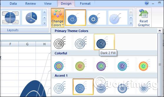 Cách tạo đồ họa SmartArt trên Excel - Ảnh minh hoạ 10
