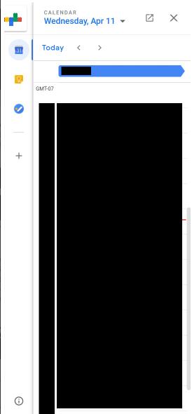 Plugin Calendar mới của Gmail