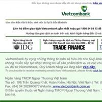 Website của Vietcombank bị hack, hiển thị hai câu thơ chế về đời sinh viên