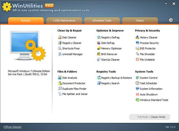 WinUtilities Pro 15.21