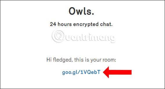 Link phòng chat rút gọn