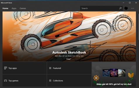 Và tất nhiên, so với Fall Creators thì giờ đây Windows Store trông chuyên nghiệp hơn hẳn
